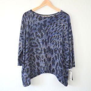 NWT Clara Sun Woo Animal Wave Soft Knit Sweater